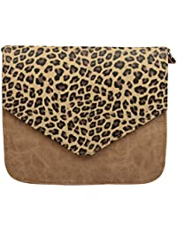 Trendz Girls' Sling Bag (Brown,365)
