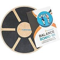 FitForward Balance Board – Hochwertiger Therapiekreisel aus Holz – Balancetrainer für Rehab und Physiotherapie – inklusive Trainingsheft preisvergleich bei fajdalomcsillapitas.eu