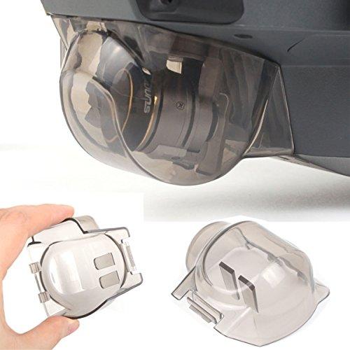 Flycoo Gimbal-Schutz Schutz der Plattform für DJI Mavic Pro-Cap Haube Kamera abstürzt Gegen Staub und Wasser Während des Transports (Klar)