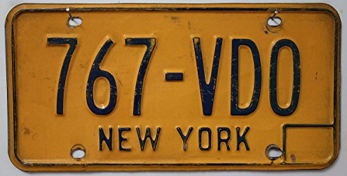 USA Nummernschild NEW YORK ~ US Kennzeichen LICENSE PLATE ~ Blechschild