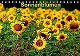Sonnenblumen (Tischkalender 2019 DIN A5 quer): Sonnenblumen in verschiedenen Farben und Formen, wie gewachsen im Feld (Monatskalender, 14 Seiten ) (CALVENDO Natur)