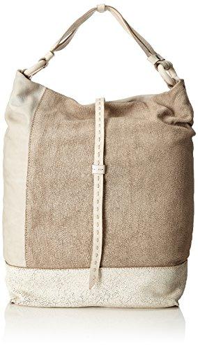 Caterina Lucchi  Scirocco, sac bandoulière femme - beige - Beige (Corda), 12x43x29 cm (B x H x T)