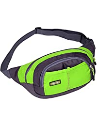 Generic Running Bags Waist Bag Man Shoulder Bag Sport Canvas Messenger Bags Outdoor Travel-parent