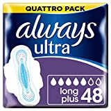 Always - Ultra Long Serviette Hygiénique avec Ailettes Quattro Pack