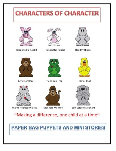 Paper Bag Puppets and Mini Story