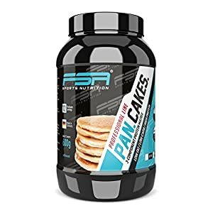 Protein Pancake, Pfannkuchen-Mix schnell und einfach zubereitet, Low Carb Eiweiß-Backmischung – Made in Germany – FSA Nutrition, 600 g – Neutral