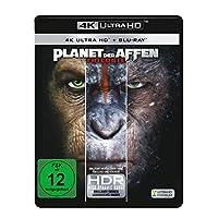 Planet der Affen 1-3 (3 4K Ultra HD) (+ 3 Blu-rays 2D)