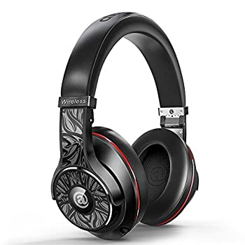 Aladdinaudio Wireless Bluetooth Headphones With Microphone Over-ear Stereo Headsets, Volume Control, 30 Hours Playtime - Black 0