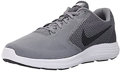 Nike Men's Revolution 3 Running Shoes, Blue, UK, Grey (Cool Grey/Black-White), 6 UK