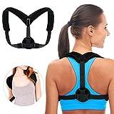 Korrigier-Hilfe mit mit Lendenwirbelbereich–hochwertiges Stützband-Physiotherapie für Männer und Frauen–Erleichterung des Rücken, Schulter und des Hals–Halt Körperhaltung