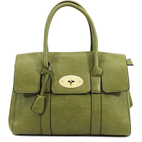 HB Style - Borsa sacchetto stile lusso Ragazza donna unisex adulti Green