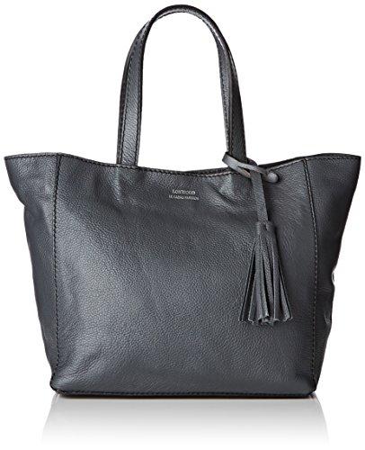 Loxwood  Cabas Parisien Pm Graine, Damen Tote-Tasche Grau - Gris (Slate)