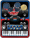 Vivo © 2 in 1 Piano and Drums Music Jam Playmat Learn Keyboard Drum Kit Electronic Fun
