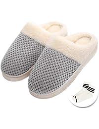 Amazon.it  Scarpe Comode Donna - Pantofole   Scarpe da donna  Scarpe ... 3bc2031aff6