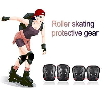 Kinderschutz Kita Sport Protektoren Knie Ellenbogen Handgelenk Skate Skateboard