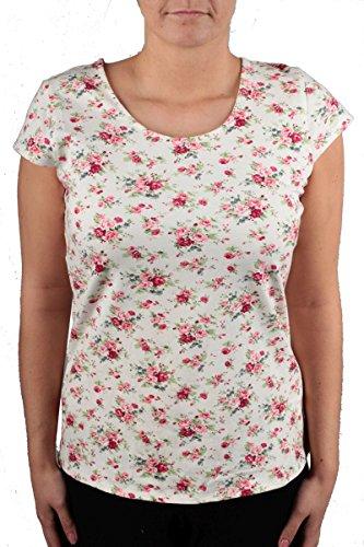 Hailys Damen Oberteile / T-Shirt Melanie Weiß