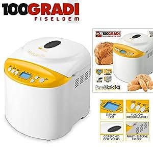 100 gradi fiseldem f117 macchina del pane casa for Cucinare a 70 gradi