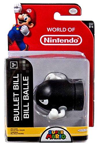 Bill Bala - Super Mario Bros - 6 cm (Serie World of Nintendo)