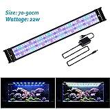 JOYHILL Eclairage Aquarium LED, Rampe LED pour Aquarium d'eau Douce, Lumiere Aquarium Plantes, 2 Mode Lampe LED pour Aquarium...