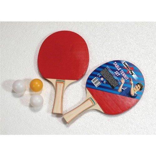 Tischtennisset 5-teilig, 2 Schläger und 3 Bälle