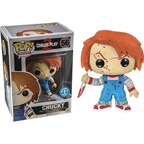 Funko 024796 Pop Movies: Child's 2 Play Bloody Chucky 56 Vinyl Figure