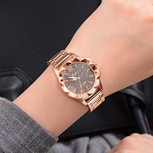 Mode Elegant Analog Quarz Armbanduhr Weiblich Luxus Bling Kristall Accentted Dial Uhr Kaffee - Kristall Kaffee