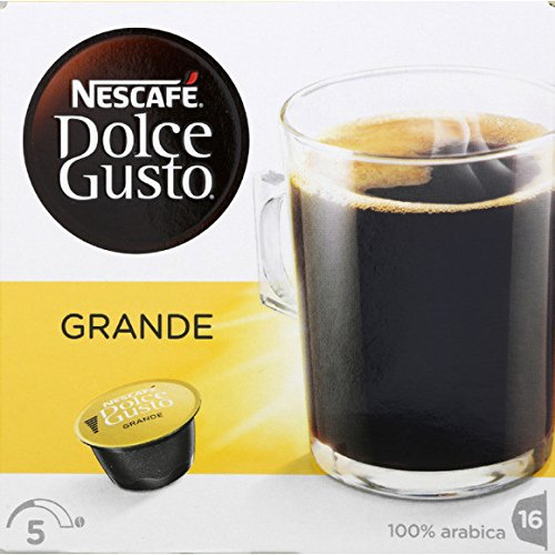 Dolce Gusto Café pur arabica, Grande Aroma Les 16 dosettes, 128g Prix Unitaire - Envoi Rapide et Soignée