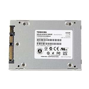 """Toshiba Disque flash SSD SATA 2,5 """"- 64 Go-SATA-disque THNS064GG2BBAA"""