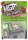 MADD MGP Big Stunts Mini Finger Scooter - Finger Whip Toy - BLACK