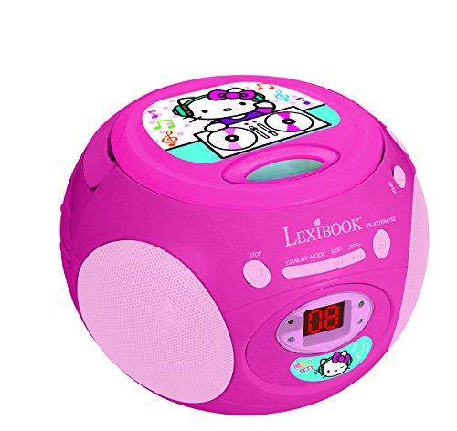 Lexibook RCD102HK - Radio CD Player Hello Kitty