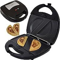Syntrox Germany–empanada Maker Masa tasc henmaker Chef Maker SM de 1300W empanada con placas extraíbles Back