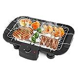 Unbekannt 2000W Antihaft-Elektrischer BBQ Teppanyaki-Grill-Grill-Bratplatte-Tabellen-Oberseite Rauchloses Werkzeug