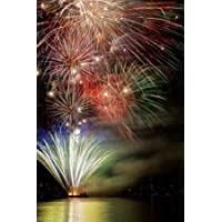 Feeling at home, Stampa artistica x cornice - quadro, fine art print, Poulsbo Fireworks III cm