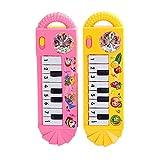 Vi.yo Kinder Elektronische Piano Musik Spielzeug Kleine Violine Tastatur mit acht Schlüsseln Musikinstrumente, 1 Stück (Farbe zufällig)
