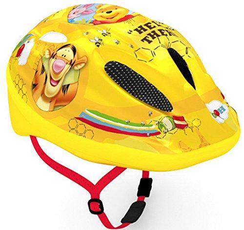 Disney Kinder-Fahrradhelm, verschiedene Designs: Cars / Mickey und Minnie / Winnie Pooh / Prinzessin, Winnie The Pooh