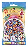 Hama Striped Beads (1000-Piece, Multi-Colour)