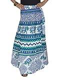 Indian Long Wrap Skirt Sarong Wrap aroun...