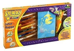 Canal Toys - CTC316 - Loisir Créatif - L'Aérographe Electrique Spray Color - Coffret Magique