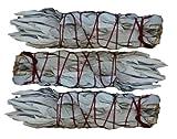 "SK White Sage Mini Smudging Stick - Three Pack (4""- 5"")"