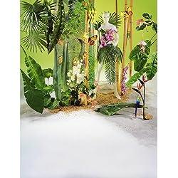 Woerner Deko Fächerpalmen-Blatt grün 80cm