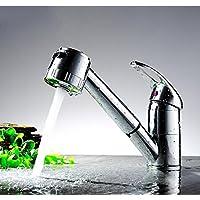 Moderno/contemporaneo lusso elegante cucina rubinetti miglior moderno commerciali a singola maniglia, estrarre Lavello rubinetto senza piombo Basin rubinetto miscelatore,Chorme