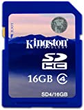 Canon Powershot A810 16GB SD SDHC Kingston Memory Card Class 4 For Camera
