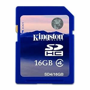 Kingston Carte mémoire SDHC pour appareil photo numérique Fujifilm Finepix F200EXR