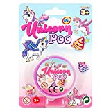 Lovely Unicorn Glitter Poo Pooh Poop Slime Putty - Ideal Stocking Filler / Christmas Present