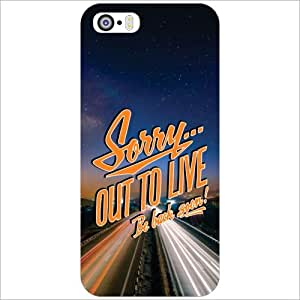 Apple iPhone 5S Back Cover - Sorry Designer Cases