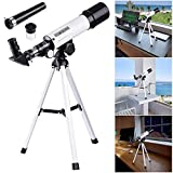 aw 50mm Astronomical Refractor Telescope refractive Spotting Scope eyepieces Tripod Kids Beginners