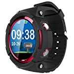 Smart Watch für Senioren,QIMAOO Smart Uhr mit GPS Tracker, Handy Ortung, SOS und App Tracking für Android Smartphone,HTC, Sony, Samsung, LG Google, Pixel ,iPhone 5 / 5S / 6 / 6Plus/7 / 7plus/8/X