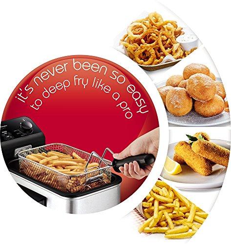 51R5uVRc27L - Tefal FR333040 Easy Pro Deep Fryer, (5 Portions), 1.2 Kg Capacity, 2100 W, Stainless Steel