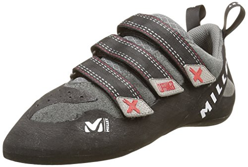 MILLET Cliffhanger Chaussons dEscalade Homme Rouge/Charcoal