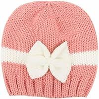 feiXIANG Cappello del bambino Bambino neonato ragazzo neonato maglieria lana  cappello cappello morbido berretto Crochet 82d3df801b49